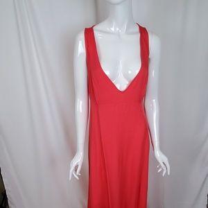 BB Dakota Sleeveless Open Back Rayon Maxi Dress